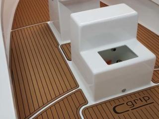 Fishing Boat Soft Decking Ocean Grip Teak Alternative Carolina Boat Builder
