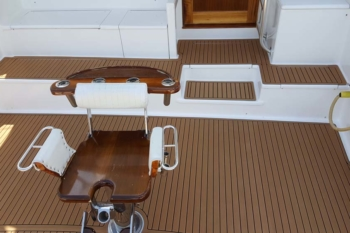 Fishing Boat Soft Decking Ocean Grip Teak Alternative