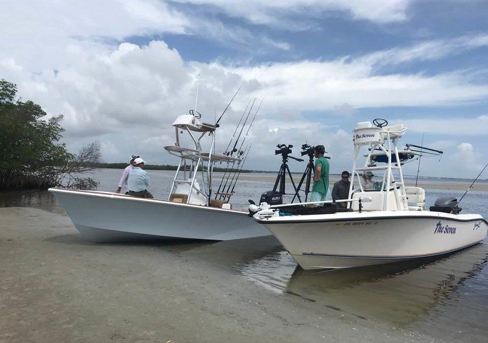 Florida Sportsman Best Boat 2018 shoot