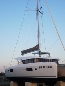 Sail Sailboat damage repair Outer Banks OBX Marine Services