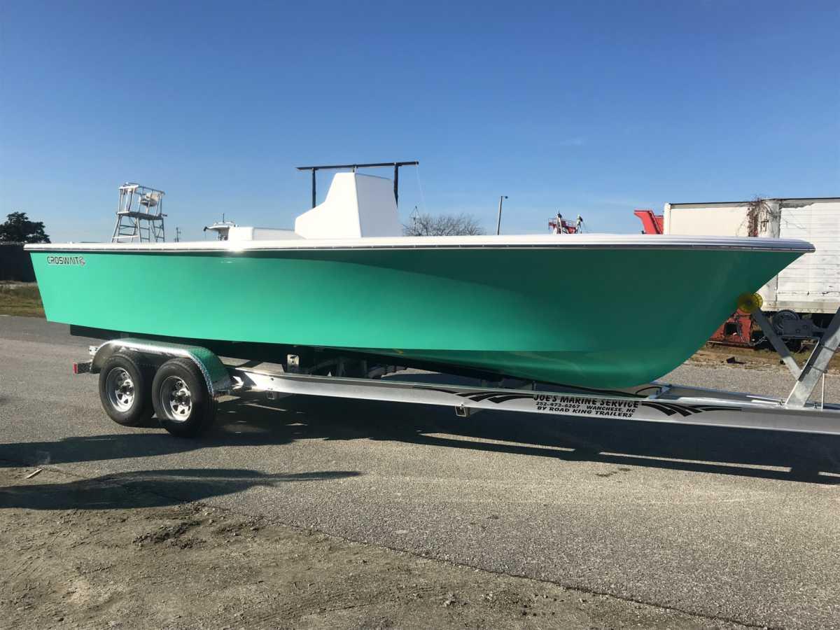 Duck Boat, OBX Boat Builder, Outer Banks Boat, Skiff